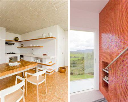 Hillside Home Design With Roof Entrance
