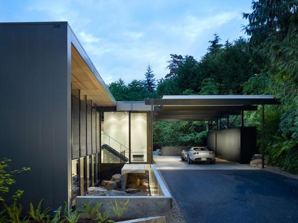 Hillside Home Plan Undergoes Renovation Transformation