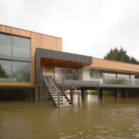 House On The River – wow, it's actually in the river …