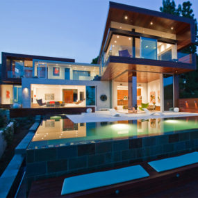 Hollywood Hills Contemporary Home – Sunset Plaza Villa