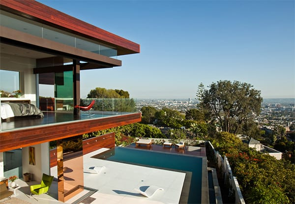 Hollywood Hills Contemporary Home Embledge 5 Jpg