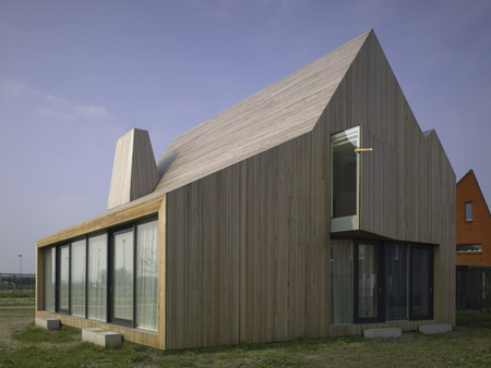 Wood Home Design in Netherlands - fascinating countryside ...