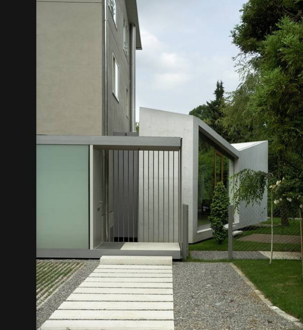 Modern Home Additions: Modern Home Addition Is ... In The Garden