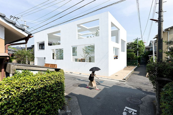 house n 1 Ultra Modern House in Japan   Unique Multi Window House