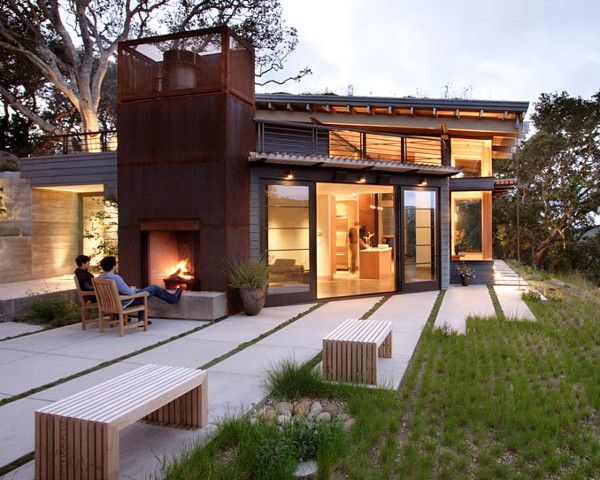 Tiny Home Designs: Luxury Hidden Hillside Home In Carmel Valley, California