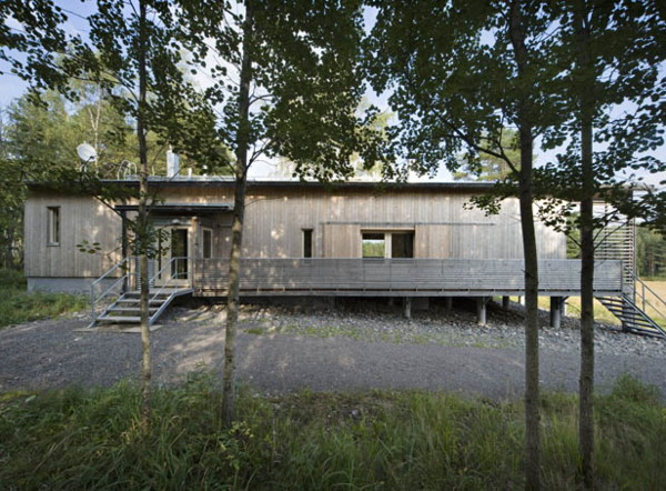 humelgard house 1 Contemporary Finnish Cottage   four season home in Fiskars, Finland