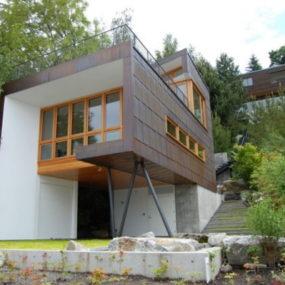 Modern Rustic Lake House on Mercer Island, Washington – imaging yourself standing there …