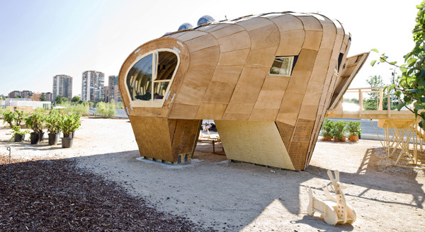 Energy Producing Homes – House by IAAC, Fab Lab House