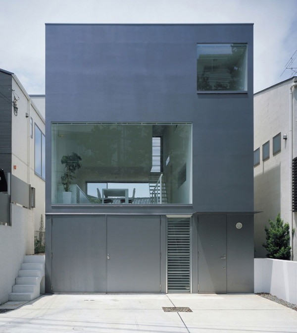 Modern industrial design house in japan blends contemporary fashion and function - Industrial design interior ideas ...