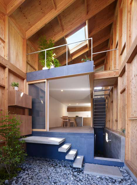 Inside Out House with Inner Garden