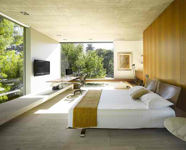 Inside outside home design by south american architect for American house designs modern