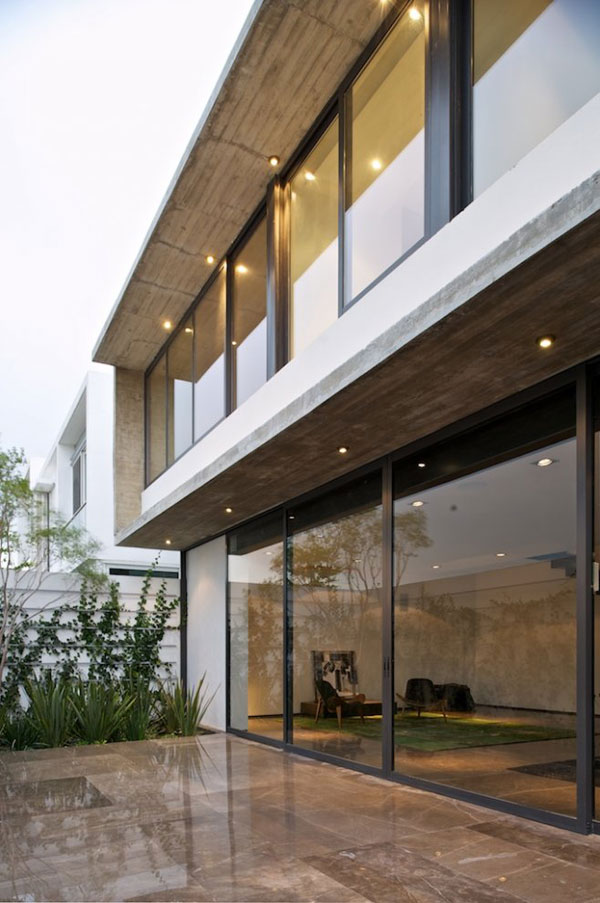 View In Gallery Interesting House Facade Modern Mexico Design 3