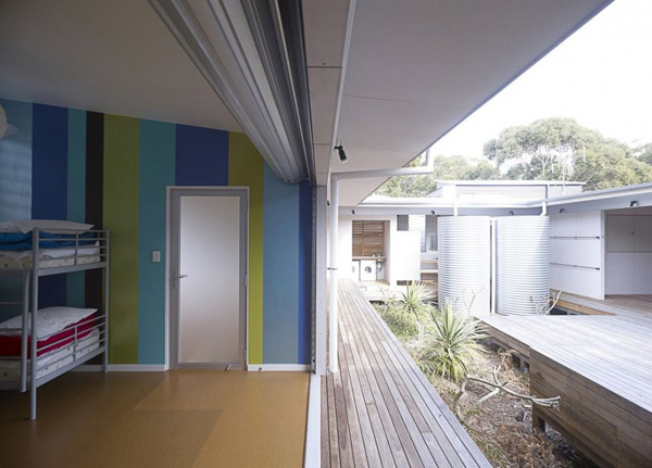 interior courtyard home plans australian holiday 5