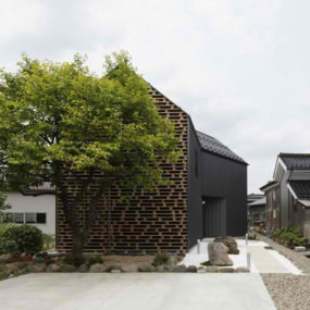 Intriguing Home Inspired by Brickwork