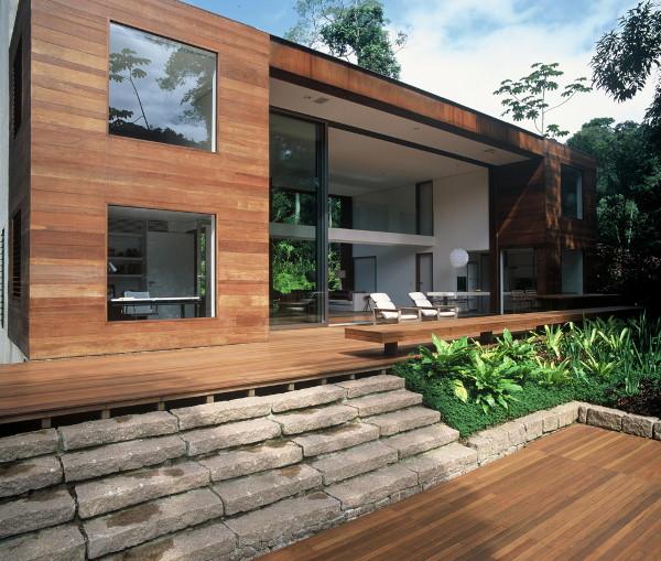 "iporanga house arthur casas 1 Luxury Brazilian House by Architect Arthur Casas   the ""Inside Out"" house"