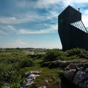"Jagged Coastal Studio on Fogo Island's ""Iceberg Alley"""