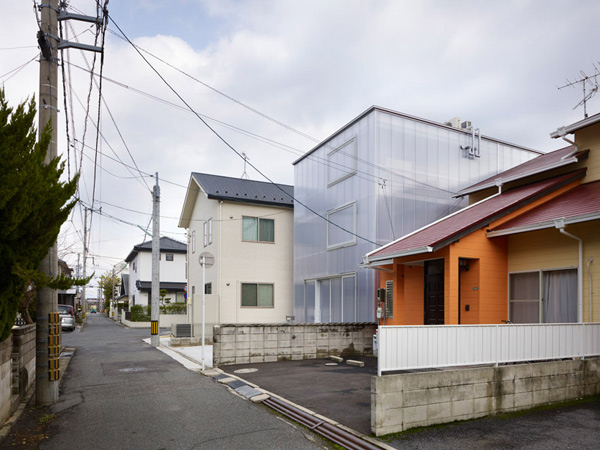japanese light box house 1 Japanese Light Box House