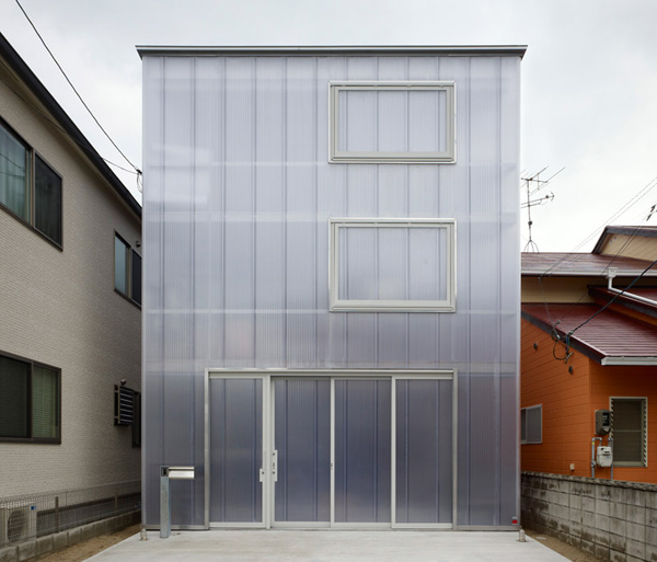 Japanese Light Box House