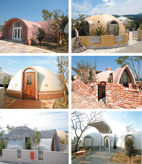 Dome Home Design Ideas: Prefab Styrofoam Dome House