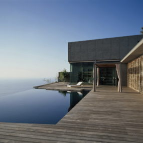 Glass and Concrete House Design in Canary Islands, Spain – a view to die for!