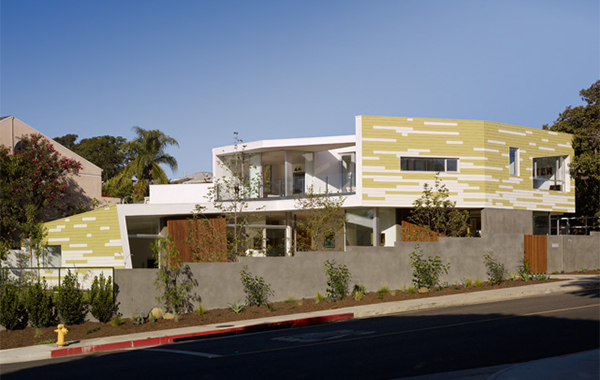 king house 1 Modern California Home in Santa Monica inspired by trees ...