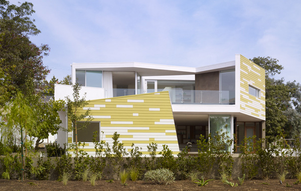 king house 2 Modern California Home in Santa Monica inspired by trees ...