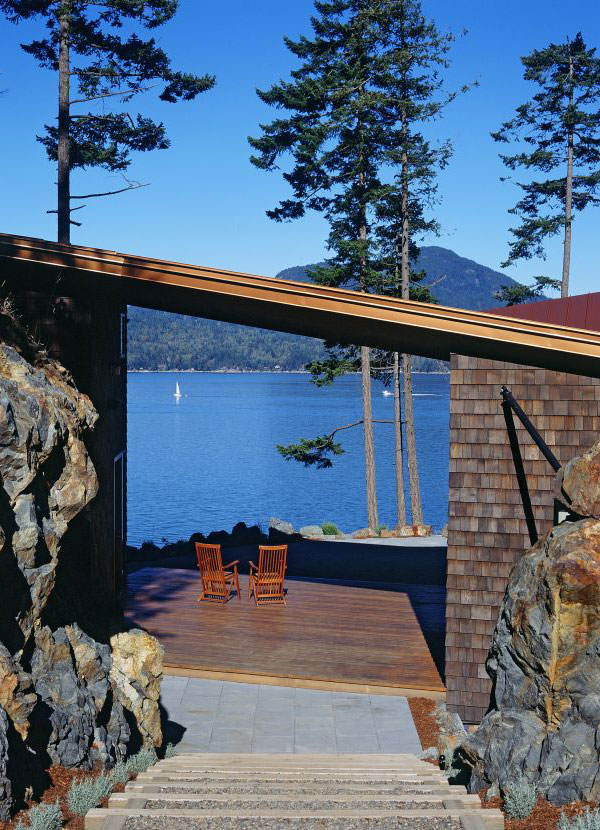 lake home design 6 Lake Home Design by Contemporary Canadian Architects