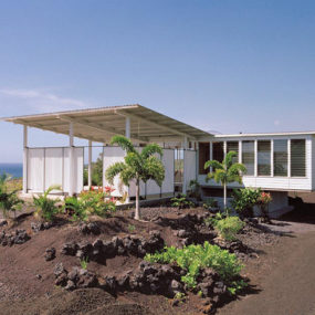 Small Cottage Design with Large Covered Deck in Hawaii