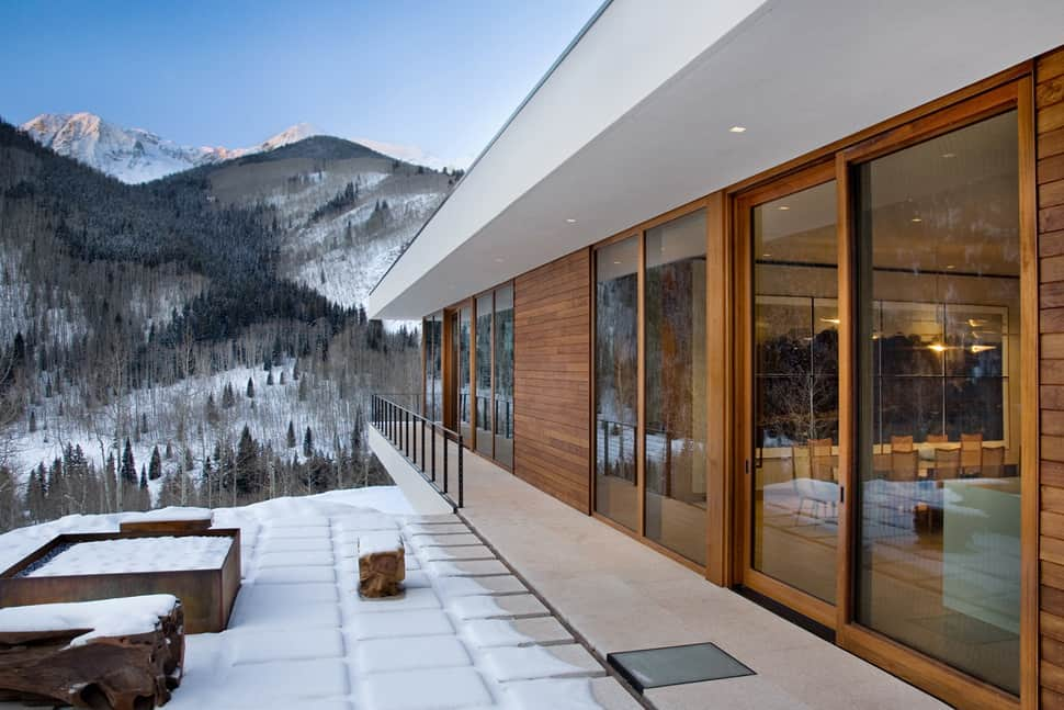 linear mountain house of wood, glass and chalet charmview in gallery linear mountain house of wood glass and chalet charm 2 thumb 630x420 21235 linear mountain house