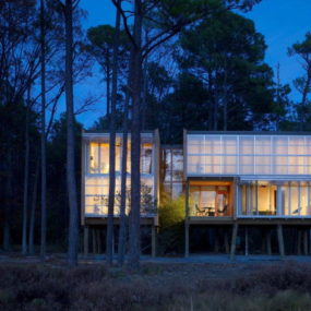 Prefab House Design in Maryland – Stunning, Stilted, Sustainable Loblolly by Kieran Timberlake Architects