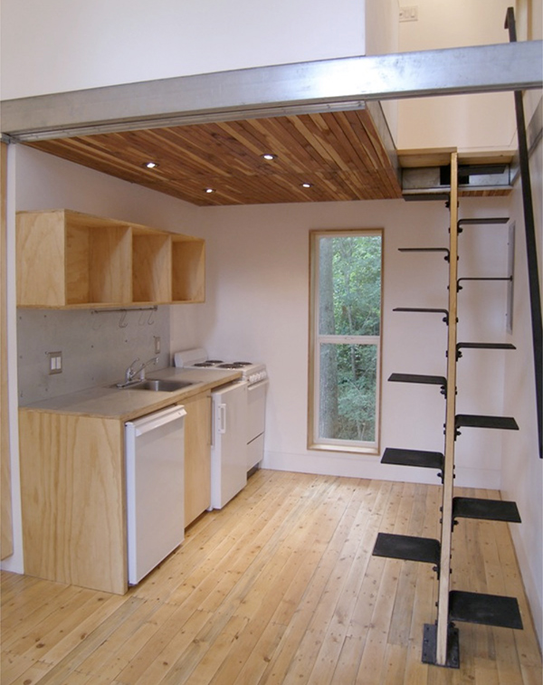 Loft house designs on a budget design photos and plans for Small home designs with loft