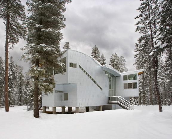 logjam house 1 Luxury Retreat in Rural Colorado makes a Modern Statement   Logjam House