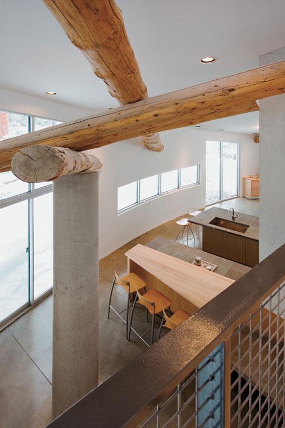 logjam house 2 Luxury Retreat in Rural Colorado makes a Modern Statement   Logjam House