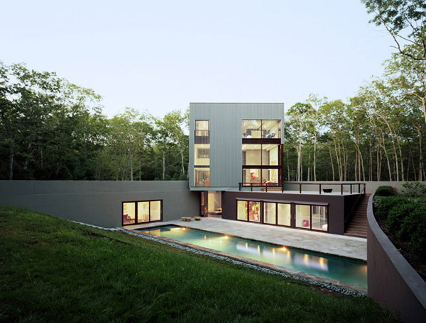 Long Island Underground Architecture by New York Firm