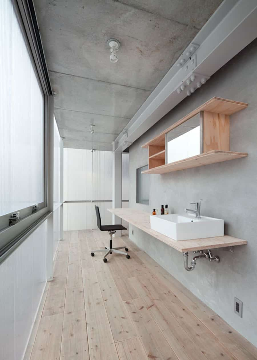 House With Translucent Walls And Minimalist Design