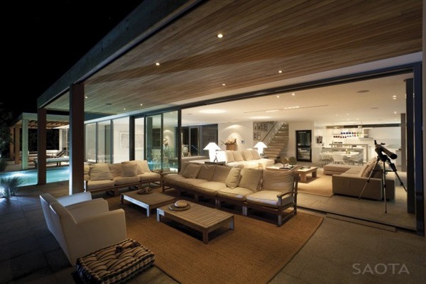 view in gallery luxurious lived in beach house in south africa inside