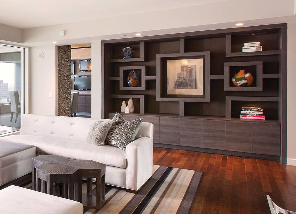 View In Gallery Luxury Hollywood Penthouse With Chic Game Room Replacing