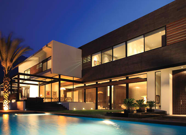 luxury mexico house by glr arquitectos - Contemporary Luxury Homes