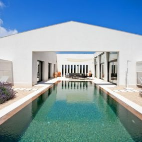 Luxury island home with modern outdoors and resort amenities