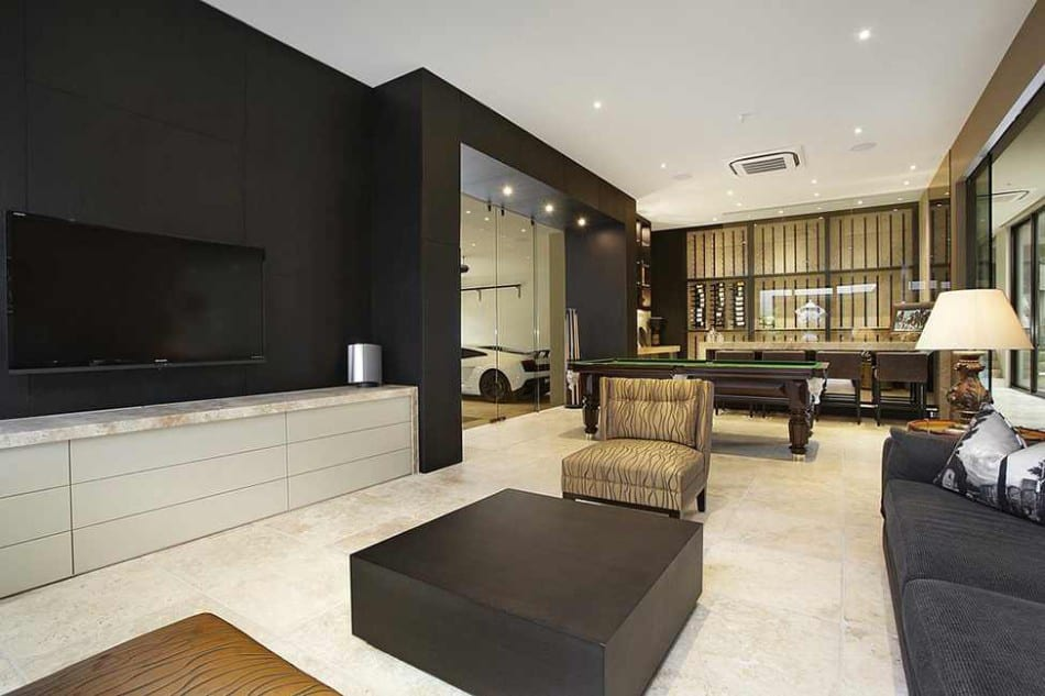 View In Gallery Luxury Melbourne Home With Pillared Entry And Interior