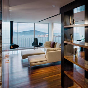 Luxury Penthouse Apartment Overlooking San Francisco's Aquatic Park