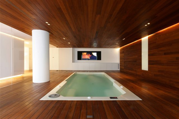 Luxury Pool Houses 3 Luxury Indoor Pool House Design By JM Architecture