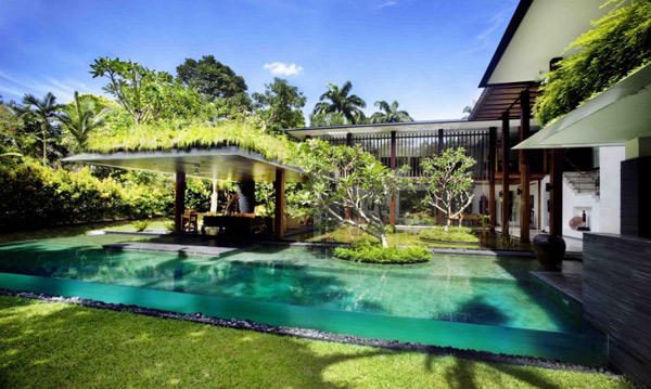 Roof Design Ideas: Luxury Singapore Homes: Indoor / Outdoor Architecture
