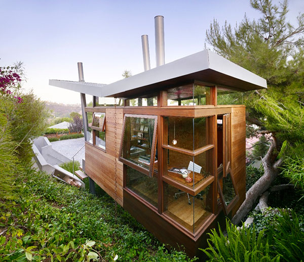 luxury tree house rpa 1 Luxury Tree House   Treehouse of Art and Inspiration