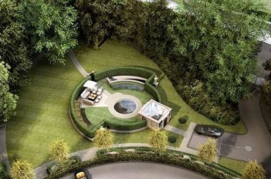 luxury underground mansion with water feature 1 Luxury Underground Mansion in England with waterslide feature