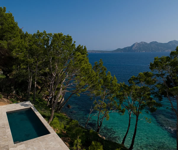 Mediterranean Style Houses With Ocean Views: Luxury Summer House Of Mediterranean Design Offers Amazing