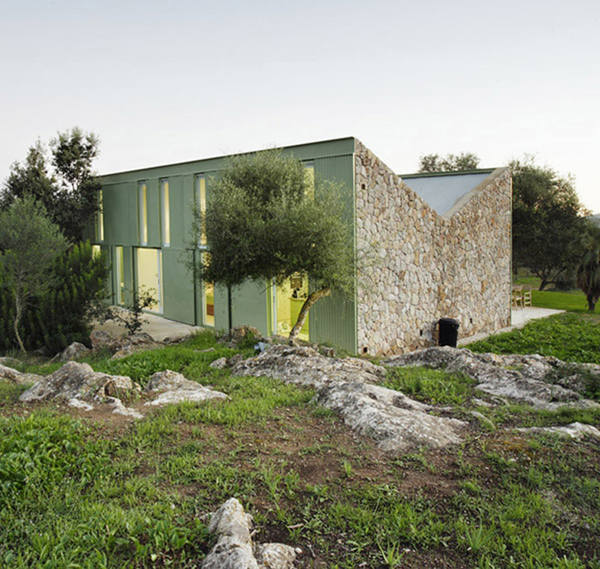 mallorca weekend house 3 Stone Farmhouse Home Design with Rustic Cottage Style Exterior, in Spain