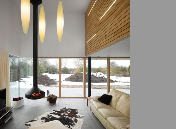meadowview residence 3 Contemporary Country Home in Bedfordshire, England   urban meets countryside