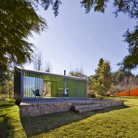 Mini Glass House Is Big On Style Spirit
