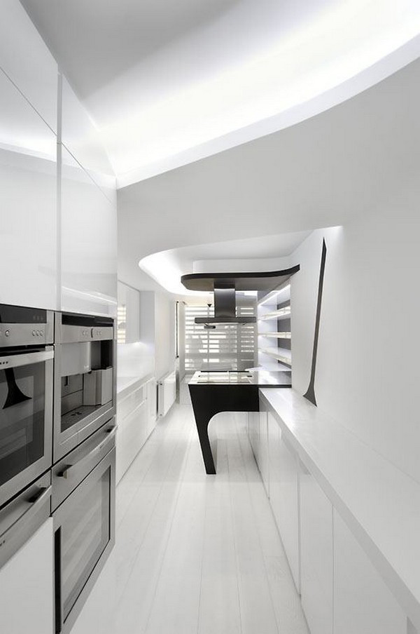 Minimalist Home Interior Architecture by Spanish Firm A-cero